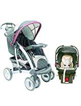 Graco Quattro Tour DLX  Travel System- Antiqu