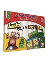 Madrat Games 9XM Ludo Leap and Reversi Blast, Multi Color