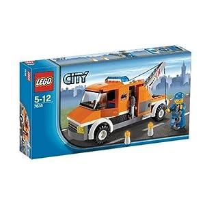 レゴ シティ レゴの町のレッカー車 #7638外箱の写真