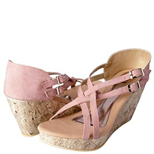 Starlo Sandals Women PF 1442 Pink