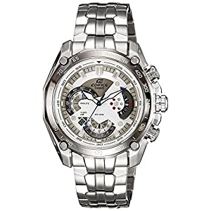 Casio Edifice Tachymeter Chronograph White Dial Men's Watch - EF-550D-7AVDF (ED391)