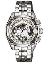 Casio Edifice Tachymeter Chronograph White Dial Men's Watch - EF-550D-7AVDF (ED391)