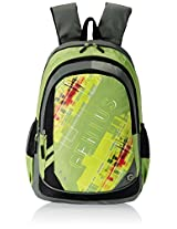 "Genius Nylon Children's Backpack (GN 1520 - 19""-GREEN)"