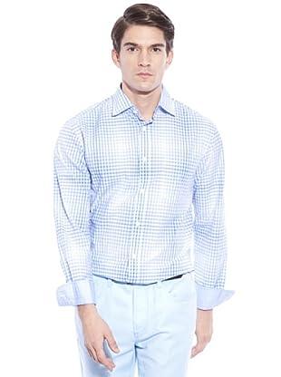 Hackett Camicia Quadri (Bianco/Blu)