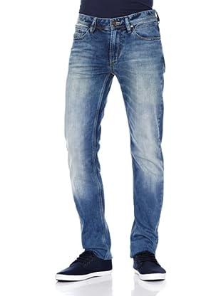 Springfield Pantalón Pilo Medium (Azul)