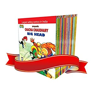 Pran Combo Pack (Set of 9 Books- Chacha Chaudhary,Pinki, Billoo) (English)