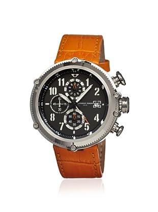 Giorgio Fedon 1919 Men's GFAV002 Sport Utility Orange/Black Leather Watch