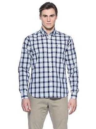 Mistral Camisa John (Blanco / Azul)