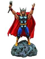 Diamond Select Toys Marvel Classic Thor Action Figure, Multi Color