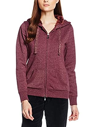 DEHA Sweatjacke B22773 bordeaux XL