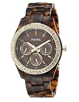 Fossil Chronograph Brown Dial Men's Watch - ES2795