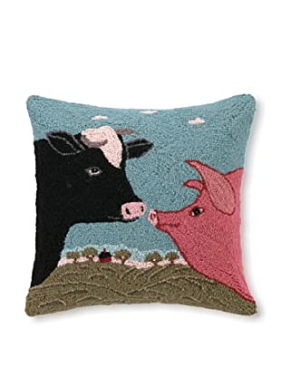 Hook Pillow, Country Cousins, 18