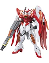 "Bandai Hobby HGBF Wing Gundam Zero Flame (Honoo) ""Gundam Build Fighters"" Model Kit, 1/144 Scale"