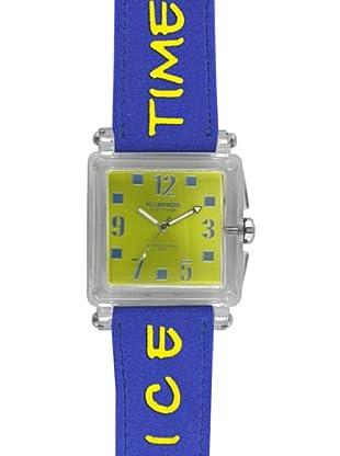 K&Bross 9415-2 Reloj Unisex movimiento de cuarzo con correa téxtil