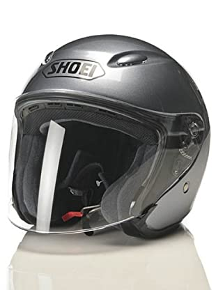 Shoei Casco J-Wing Monocolor Candy (Gris / Perla)