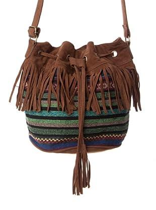 Springfield Bolsito Mapuche marrón