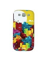 Chumbak Buildings Case for Samsung Galaxy S3 (Multicolor)