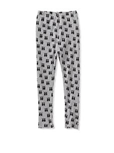 A for Apple Ren Leggings with G&M Repeat (Grey)