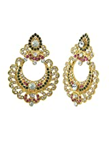Aakshi Pearl Jhumki Earring For Women (Gold)
