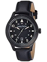Nautica Sports Analog Black Dial Men's Watch - NTCA11107G