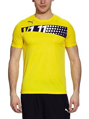 Puma T-Shirt IT (vibrant yellow-parachute purple)