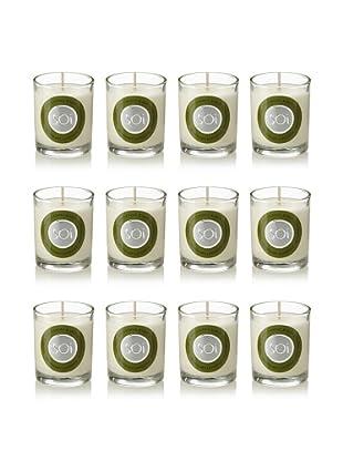 The Soi Co. Set of 12 3-Oz. Votives, Rosemary Lavender