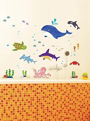 Ambiance Sticker Wandtattoo Marine Animals