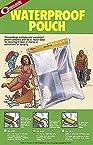 Coghlans Waterproof Vinyl Pouch, 7 x 10-inch