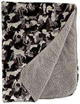 Camouflage Pet Throw Blanket