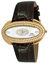 Elite analog Ladies dress White dial Women's watch - E50752/105