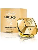 Paco Rabanne Lady Million Eau De Parfum Spray for Women, 80ml