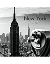 2017 New York Grid Calendar - Photographic Calendar - 30 x 30 cm