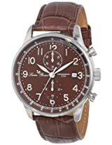 Lucien Piccard Men's LP-10503-04-BR Montilla Analog Display Japanese Quartz Brown Watch
