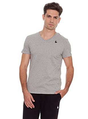 Le Coq Camiseta Vneck Rooster Only (Gris)