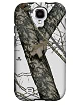 Case-Mate Samsung Galaxy S4 (OLO PKG) Tough (Bumper) Mossy Oak - Winter w/Black Bumper - Carrying Case - Retail Packaging - Print