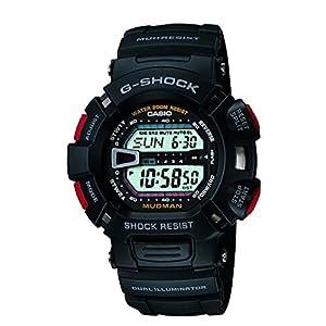 Casio G-Shock Professional Digital White Dial Men's Watch - G-9000-1VDR (G201)