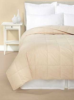 Mélange Home Down Blanket (Latte)