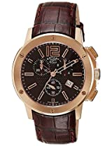 Rotary Analog Brown Dial Men's Watch-LS000044016