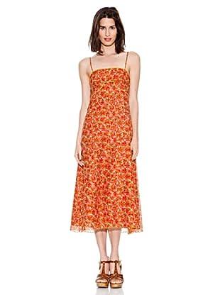 Jocomomola Vestido Pomelo (Coral / Rosa)