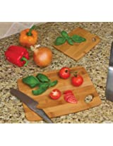 Lipper 859 Bamboo Thin Cutting Boards 6 in. x 8 in. and 9 in. x 12 in.