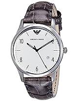 Emporio Armani Beta Analog Silver Dial Men's Watch - AR1880