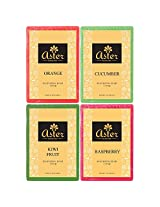Aster Luxury Fruit Premium Handmade Bathing Bar Combo - Set of 4 (125g each)