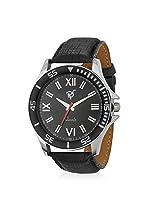Rico Sordi Mens Black Leather Watch