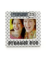 Enesco Our Name is Mud by Lorrie Veasey Dynamic Duo Frame