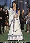 Priyanka chopra white lehenga choli iifa award