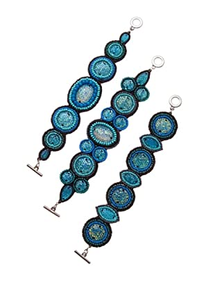 Sigris Pack 3 Pulseras (Azul)
