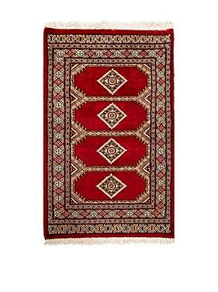 RugSense Alfombra Kashmir Rojo/Multicolor 122 x 78 cm