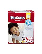 Huggies Snug & Dry Diapers Jumbo Pack - Size 5 27ct.