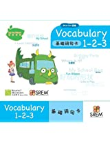 My Fun Chinese: Vocabulary 1-2-3 of Blue Pack