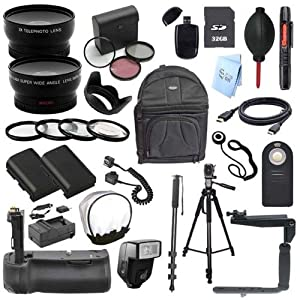 Everything You Need SLR Kit for Canon EOS 70D Digital SLR camera